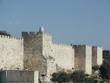 Murallas de la ciudad antigua. Jerusalem. Israel (1)