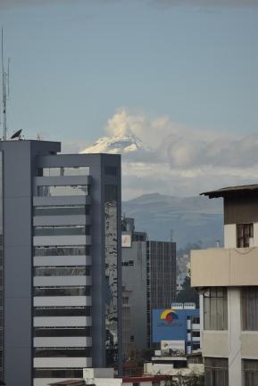 El Cotopaxi desde Quito