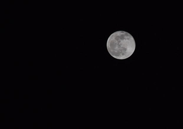 Fotografiando la luna en San Agustín