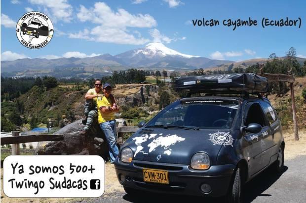 Twingo Sudaca en Ecuador