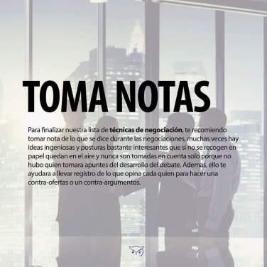Técnicas de negociación (9)