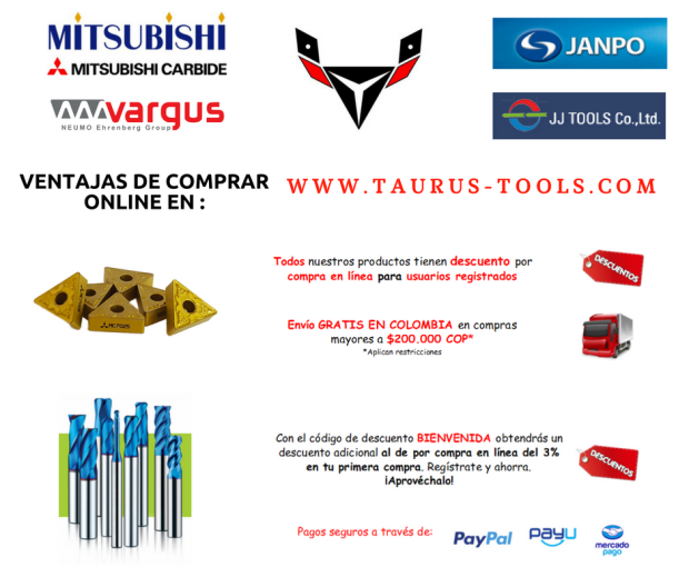 Ventajas compra en Taurus Tools